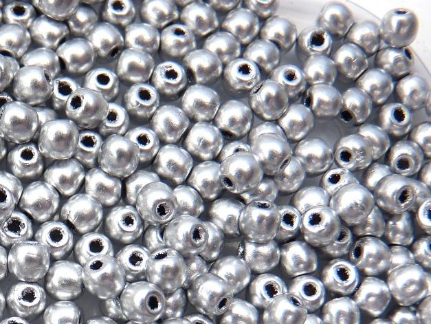 03-R-00030-01700 Crystal Silky Silver 3 mm. 150 Pc.-0