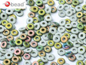 O-03000-28171 Chalk White Vitrail Matted O bead ® 5 gram-0