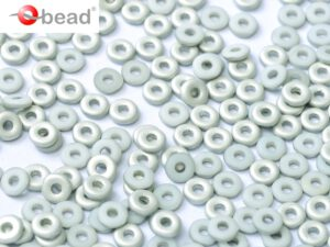 O-03000-27071 Chalk White Labrador Matted O bead ® 5 gram-0