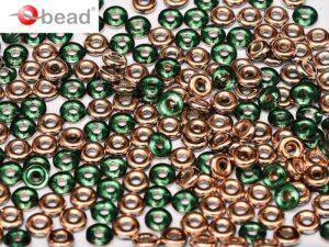 O-50730-27101 Emerald Capri Gold O bead ® 5 gram..-0