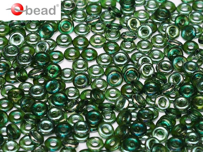 O-50730-22501 Emerald Celsian O bead ® 5 gram.-0