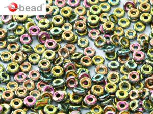 O-23980-28100 Jet Vitrail Full O bead ® 5 gram-0