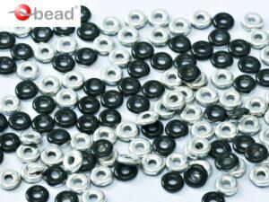 O-23980-27001 Jet half Labrador O bead ® 5 gram-0