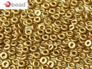 O-00030-01710 O bead ® Crystal Aztec Gold 5 gram.-0