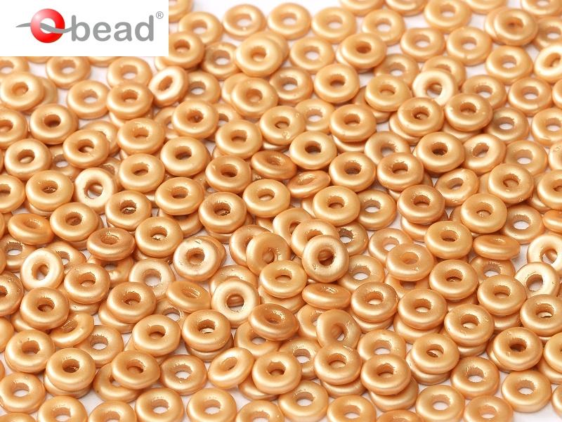 O-02010-25003 Pastel Amber O bead ® 5 gram-0