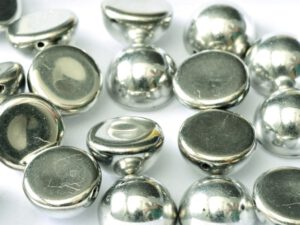DO-S-27000 Dome Beads Full Silver 8 Pc.-0