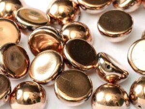 DO-S-23980-27100 Dome Beads Jet Full Capri Gold 8 Pc.-0