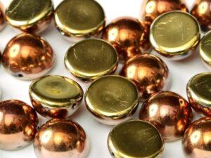 DO-S-23980-98542 Dome Beads Jet California Goldrush 8 Pc.-0