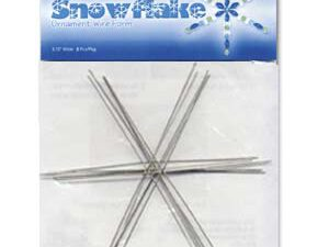 WS6 Wire SnowFlake 6 inch ( 15,25 cm.)-0