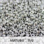 MTB-08-00030-01700  Matubo™ Crystal Silky Silver Aluminium-0