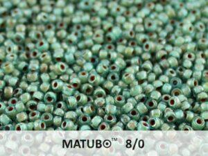 MTB-08-60020-43400 Matubo™ Aquamarine Silver Picasso-0
