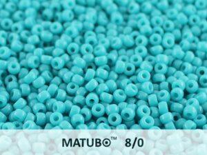 MTB-08-63900 Matubo™ Seed Beads Opaque Dark Blue Turquoise-0