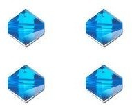 SW-03-BLZIR 5328 Blue Zircon Swarovski Bicone 3 mm 40 Pc.-0