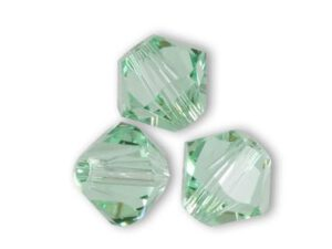 SW-03-CHRYSO Chrysolite Swarovski Bicone 3 mm 40 Pc.-0