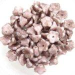 FLC-02010-15435 Flower Cup White Alabaster Terra Cotta Copper 50 Pc.-0
