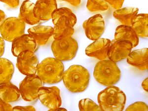 0030028 Flower Cup Topaz 50 Pc.-0