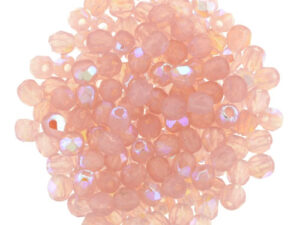 0070335 Milky Pink AB Facet 2,5 mm. 50 Pc.-0