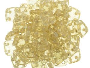 CMQT-00030-14413 CzechMates QuadraTile Transparent Champagne Luster-0