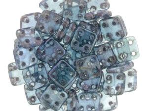 CMQT-00030-15726 CzechMates QuadraTile Transparent Amethyst Luster-0