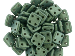 CMQT-79051MJT CzechMates QuadraTile Metallic Suede - Lt Green-0