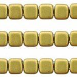 CMT-00030-01720K CzechMate Tile Matte Metallic Aztec Gold 22 Pc.-0