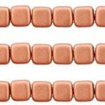 CMT-00030-01770 CzechMates Tile Matte Metallic Copper 25 Pc.-0