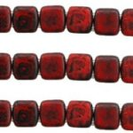 CMT-93200T CzechMates Tile Opaque Red – Picasso 20 Pc.-0