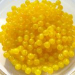 03-R-81210 Milky Yellow (Opal) Round 3 mm. 120 Pc.-0