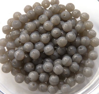 04-R-44020 Alabaster Grey Round 4 mm. 100 Pc.-0