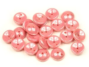 PGY-73020-14400 Opaque Lustered Pink Piggy Bead 50 Pc.-0