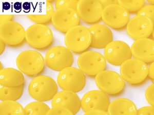 PGY-83130 Opaque Yellow Piggy Bead 50 Pc.-0