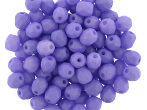 0080599 Saturated Lavender Facet 3 mm. 50 Pc.-0
