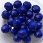 0090149 Opaque Sapphire Facet 8 mm. 12 Pc.-0
