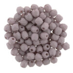 0020267 Saturated Sand ( Mushroom) facet. 4 MM. 50 Pc.-0