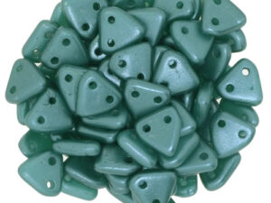 CMTR-25027 CzechMates Triangle Pearl Coat Teal/Green, 10 gram-0