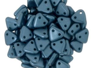 CMTR-25033 CzechMates Triangle Pastel Pearl Coat Petrol( Steel Blue), 10 gram-0