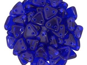 CMTR-30090 CzechMates Triangle Cobalt Blue, 10 gram-0
