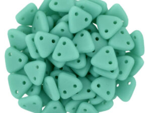 CMTR-63130M CzechMates Triangle Matte Green Turquoise, 10 gram-0