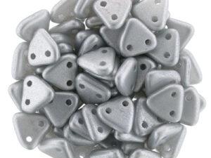 CMTR-29405 CzechMates Triangle Satin Silver, 10 gram-0
