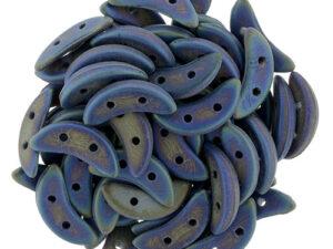 CMCR-23980-21135 CzechMates Crescent Matte Iris Blue 5 gram.-0