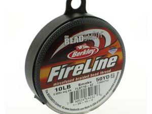 FL11SG50: 10 LB Fireline Tested Smoke Grey 0.20 mm 45 Meter-0
