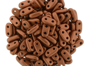 CMB-00030-01750 Matte Metallic Silky Copper, CzechMates® Bar, 10 gram-0