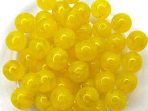 0130006 Opal Yellow 6 mm. 30 Pc.-0