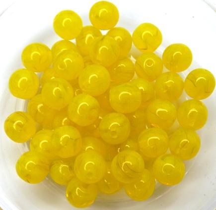 0130006 Opal Yellow 6 mm. 30 Pc.-0