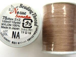 NS78NA Nozue Sonoko Beading Thread Beige ( Natural)-0