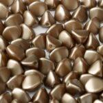 PI-25005 Pastel Lt. Brown Pinch Beads 10 gram-0
