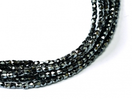 2FP-23980-14400 Firepolished Jet Hematite 2 mm.-0