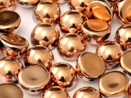 DO-ES-23980-27100 Dome Beads Jet Full Capri Gold 8 Pc.-0