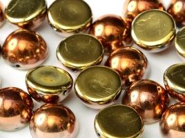DO-ES-23980-98542 Dome Beads Jet California Goldrush 8 Pc.-0
