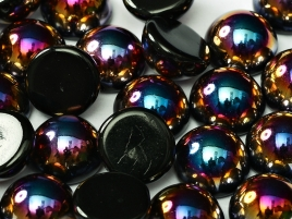 DO-ES-23980-29500 Dome Beads Jet Sliperit 8 Pc.-0